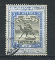 SUDAN    1948    Golden  Jubilee  Of  Camel  Postman    USED - Soudan (1954-...)