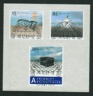 Suisse /Schweiz/Svizzera/Switzerland/2003// Design I  No. 1107-1109 - Suisse