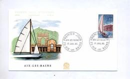 Lettre Fdc 1965 Aix Les Bains - FDC