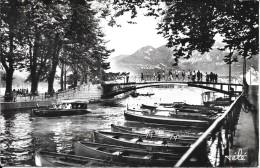 ANNECY - 74 -  Le Canal Du Vassé - Le Pont Des Amours - ENCH0616 - - Annecy
