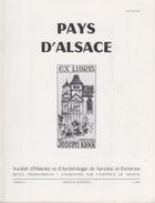 PAYS D'ALSACE -  EX LIBRIS - CAHIER 134 - 1986 - Alsace