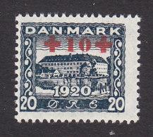 Denmark, Scott #B2, Mint Never Hinged, Sonderbork Castle Surcharged, Issued 1921 - 1913-47 (Christian X)