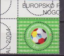 CROAZIA EURO CUP FOOTBALL CALCIO SOCCER 1 V.  MNH - Championnat D'Europe (UEFA)