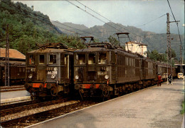 09 - AX-LES-THERMES - Gare - Train - Ax Les Thermes