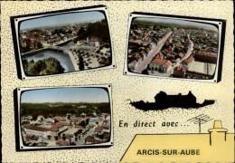 10 - ARCIS-SUR-AUBE - Vue Aérienne - Arcis Sur Aube