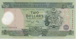 (B0363) SOLOMON ISLANDS, 2001. 2 Dollars. Commemorative Issue. Polymer Plastic. P-23. UNC - Solomon Islands
