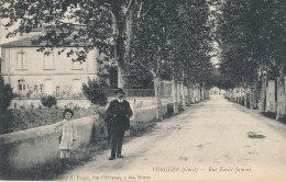 30 // VERGEZE   Rue Emile Jamais   ANIMEE  Farges édit - Vergèze