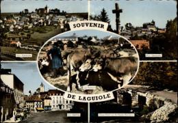 12 - LAGUIOLE - Multi Vues - Foirail - Laguiole