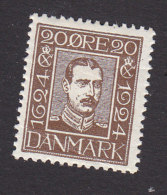 Denmark, Scott #172, Mint Hinged, King Christian X, Issued 1924 - 1913-47 (Christian X)