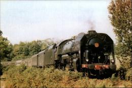 12 - Entre CARMAUX Et RODEZ - Locomotive - Train - SNCF - Rodez