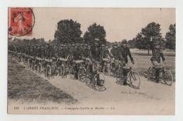 Rare - Compagnie Cycliste En Marche - L'armée Française - Guerre 14-18 - 1914-18