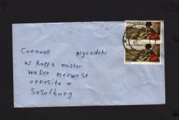 Transkei  Cover 1985 NGGEGELENI > Sasolburg - Transkei