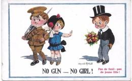 No Gun - No Girl ! - Illustrateur DONALD MC GILL - Mc Gill, Donald