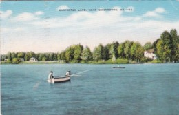Kentucky Owensboro Fishing On Carpenter Lake 1949 - Owensboro