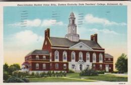 Kentucky Richmond Keen-Johnston Student Union Building Eastern Kentucky State Teachers' College 1945 Curteich - Richmond