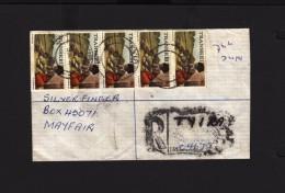 Transkei  Cover 1981, TYIRA > MAYFAIR JOHANNESBURG, QUMBU & UMTATA Transits - Transkei