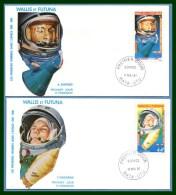 Wallis & Futuna FDC N° PA 108 /9 Gagarine & Shepard 1981 Espace Space Cosmonautes - FDC