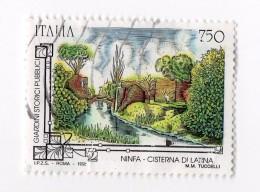 F01842 - Francobollo Stamp - Repubblica Italiana - Ninfa Cisterna Di Latina - 6. 1946-.. Repubblica