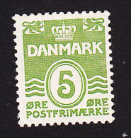 Denmark, Scott #223, Mint Hinged, Number, Issued 1933 - 1913-47 (Christian X)