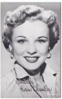 Karen Chandler Arcade Card, Facsimile Autograph, Famous Singer, Nee Eva Nadauld - Other Collections