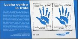 Costa Rica 2015 **  UPAEP Lucha Contra La Trata De Personas.  See Desc. - Costa Rica