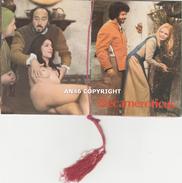 """CALENDARIETTO-ALMANACCO DEL 1975-""""DECAMEROTICUS""""-COMPLETO-OTTIMA CONSERVAZIONE - Calendari"""