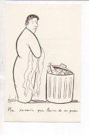 Publicité Pharmaceutique Laboratoires Guillon / Ne Savoir Que Faire De Sa Peau / Dessin De L' Illustrateur Chaval - Publicités