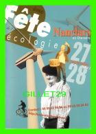 ADVERTISING - PUBLICITÉ - 2e FÊTE DE L'ÉCOLOGIE, NANCLARS EN CHARENTE, 2003 - - Publicité