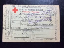 RUSSIA   UKRAINE  PRISONERS  CAMP   PRISONNIERS DE GUERRE   BEREZOVKA   1917.
