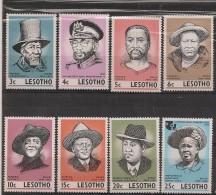Lesotho 1975 Leaders Of Lesotho NSCH MNH ** - Liberia