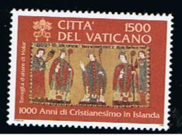 2000 - VATICANO - S10.1 - SET OF 1 STAMP ** - Unused Stamps