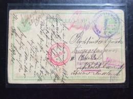 NIKOLSK   CENSURA PETROGRAD 1915    PRISONERS CAMP      PRISONNIERS DE GUERRE