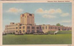 Indiana Hammond Filtration Plant 1948 Curteich - Hammond