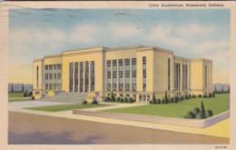 Indiana Hammond Civic Auditorium 1948 Curteich - Hammond