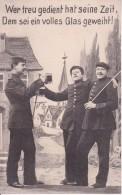 AK Wer Treu Gedient Hat Seine Zeit... - Humor - Patriotika - 1913 (24159) - Humor