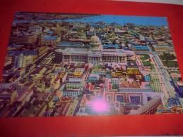 B660  Cuba Havana Vista Parziale Aerea Viagg,cm8,5x13,5 Pieghine Angolo - Cartoline