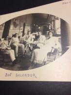 SAN SALVADOR  EL SALVADOR SAN MIGUEL APRIL 1919 CORREDOR HOTEL PARIS PHOTO SUPPLY MANUEL D CHAVEZ - Salvador