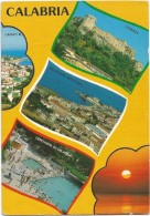R1694 Calabria - Cariati - Cosenza - Belvedere Marittimo - Cerchiara - Panorama Vedute Multipla / Viaggiata - Italie