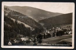 5460 - Alte Foto Ansichtskarte - Neu Gersdorf Grafschaft Glatz Kłodzko - Gel 1937 Nach Breslau - Schlesien