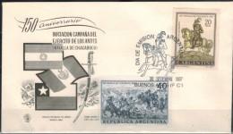ARGENTINIEN 1967 - FDC Mit MiNr: 974-975 Komplett Used - FDC