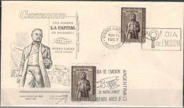 ARGENTINIEN 1967 - FDC Mit MiNr: 979 + 979 Mit Plattenfehler Used - FDC