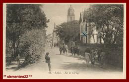 ** Batz   Rue De La Plage     N°18 ( Scan Recto Et Verso ) - Batz-sur-Mer (Bourg De B.)