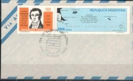ARGENTINIEN 1982 - FDC Mit  MiNr: 1567-1568 Komplett  Used - FDC