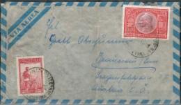 ARGENTINIEN 1949 - Luftpostbrief Mit MiNr: 507+566 - Briefe U. Dokumente