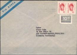 ARGENTINIEN 1977 - Luftpostbrief Mit MiNr: 1260+1317 Paar - Argentinien