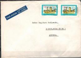 ARGENTINIEN 1980 - Luftpost Brief Mit MiNr: 1456 Paar - Argentinien