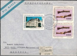 ARGENTINIEN 1980 - Luftpost Rekobrief Mit MiNr: 1512-1513 SStmp. - Argentinien