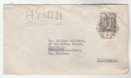 1952 Air Mail  SPAIN Stamps COVER Madrid To GB - 1931-Oggi: 2. Rep. - ... Juan Carlos I