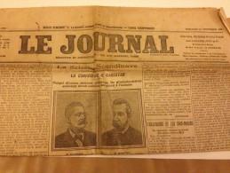 LE JOURNAL, DIMANCHE, 17 SEPTEMBRE 1905, N° 4785 - Journaux - Quotidiens