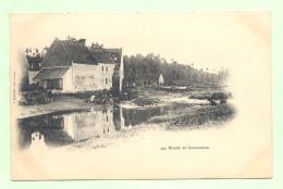 COURSEULLES , Le Moulin , Carte Envoyée à Jean Perin, Château De Montmorency, Loisy Sur Marne - Courseulles-sur-Mer